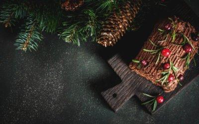 Bûche de Noël par Gourmandise et Chocolat